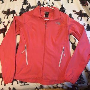 NorthFace Womens jacket size medium salmon colored